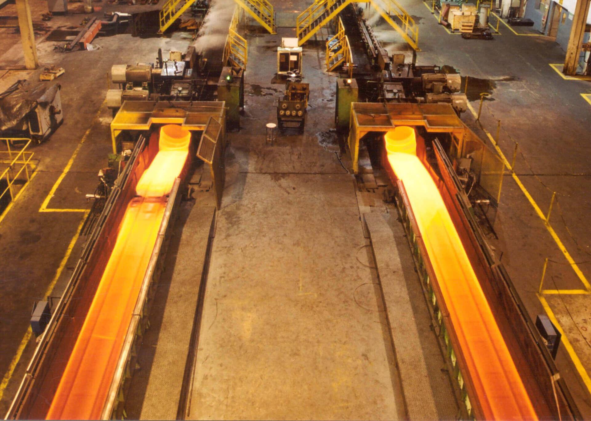 Steel process
