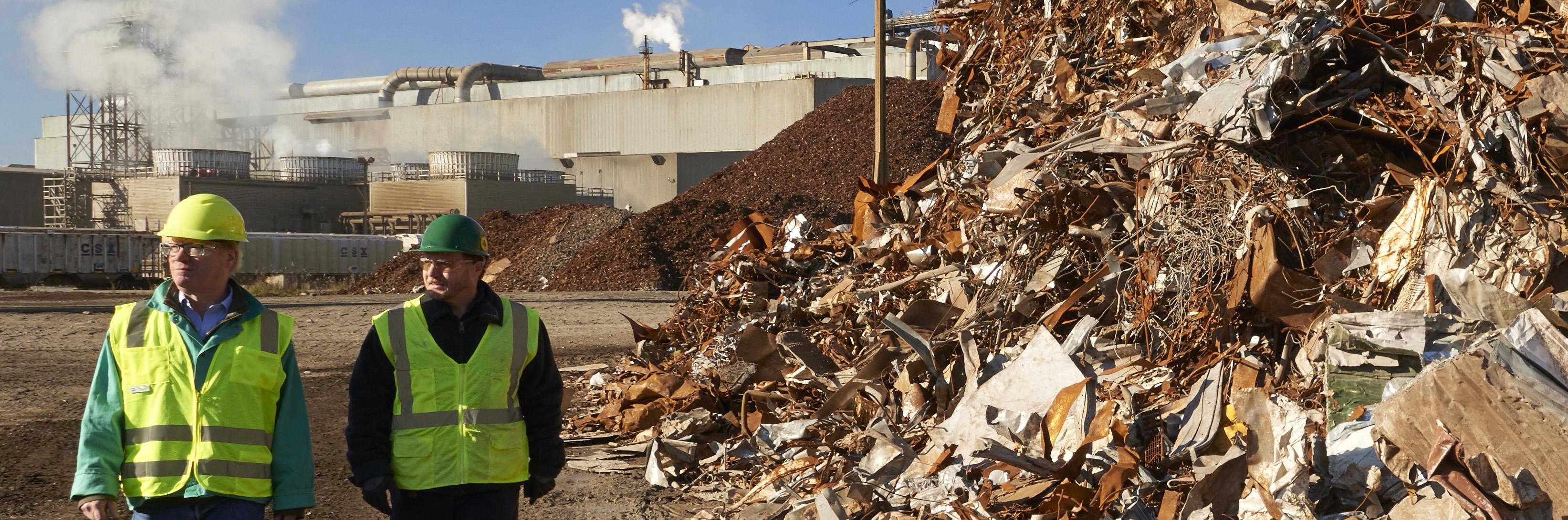 Reciclagem do aço